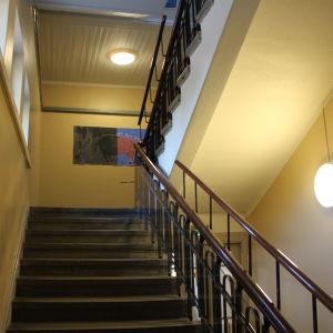Trappuppgång i Katedralskolan vid Malmgatan 2