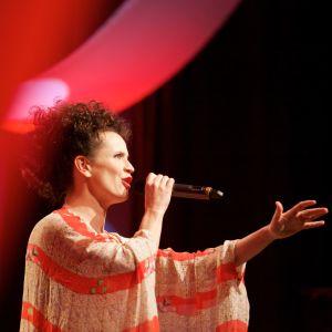 Maija Vilkkumaa Haaveille siivet konsertissa 8.3.2016