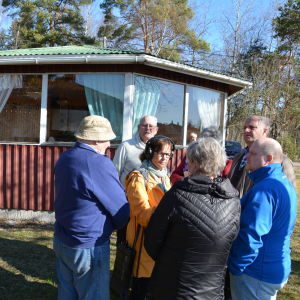 Nilla Hansson intervjuar Kårlax samfällda byaförening