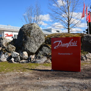Danfoss Drives i Runsor i Vasa.