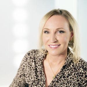 företagaren Nina Ignatius förespråkar positiv attityd