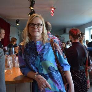 Eva Biaudet på Viirus.