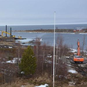 Nu rivs sjöbevakningsstationen på Valsörarna.