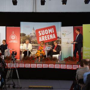 Diskussion under Finlandsarenan