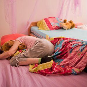 trött förälder