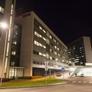 Mejlans sjukhus i Helsingfors.