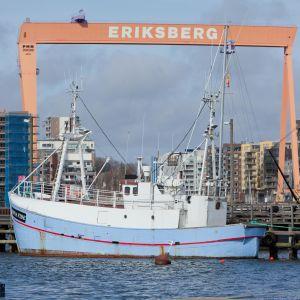 Ship to Gazas biskebåt Marianne av Göteborg