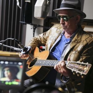 Keith Richards uudessa dokumentissa.