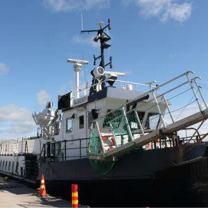 m/s Nordep vid Kirjais östra udde