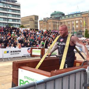 Tävlande i Strongman Champions League i Vasa