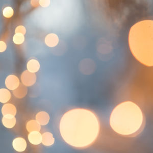glittrande ljus