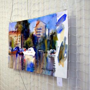 Oleg Tschoumak målade en somrig vy
