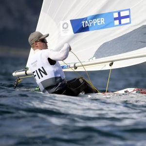 Kaarle Tapper olympialaisissa 25.7.2021