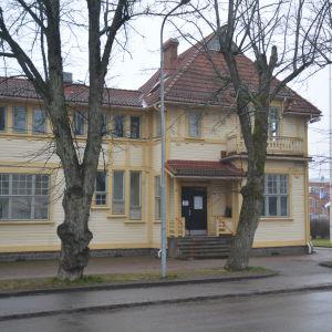 Karis ungdomsgård, Villa Haga en mulen, snöfri januaridag 2020