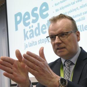 Porträtt på Markku Tervahauta.