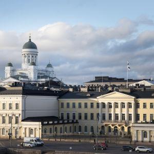 Presidentens slott och Domkyrkan