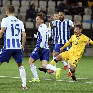 HJK ja Maccabi Tel-Aviv kohtasivat Konferenssiliigassa.