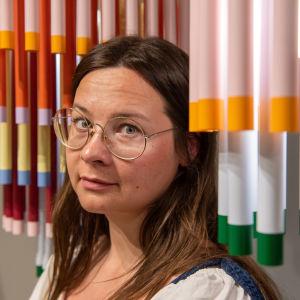 Vuoden nuori muotoilija Hanna Anonen.
