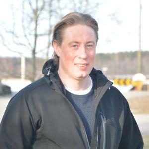 Porträttbild på Mattias Eriksson.