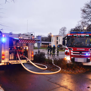 Hälsovårdscentralen i Hangö.
