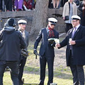 valborgsfirandet från vårdberget 2014