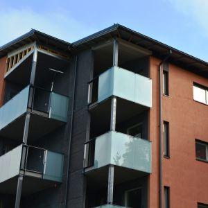 Nya ARA-bostäder på Tasbyvägen i Söderkulla.