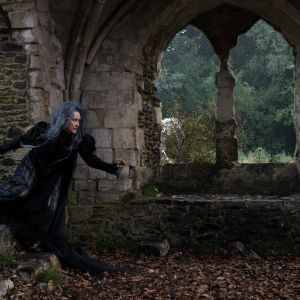 Meryl Streep som Häxan i Into the Woods