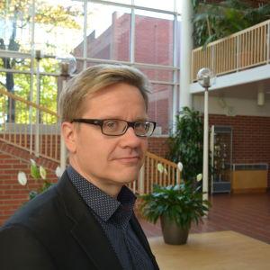 Resos stadsdirektör Ari Korhonen hösten 2015