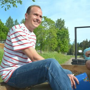 Ville Wahteristo, miljöinspektör vid Raseborg stad.