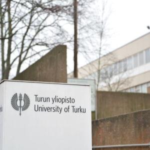 Turun yliopiston rakennuksia.
