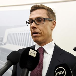 Alexander Stubb har inte uttalat sig för finländska massmedier under en lång tid.