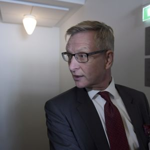 Eero Heliövaara, chef för statsrådets enhet för ägarstyrning 14 september 2016.