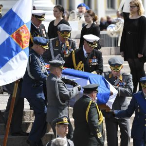 Mauno Koivistos begravning