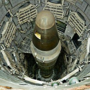 Titan II nuclear ICMB deaktivoitu ydinlärki ohjusmuseossa.