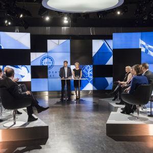 Presidenttiehdokkaat studiossa 22.01.2018, nauhoitus ruotsikielellä, Svenska Yle