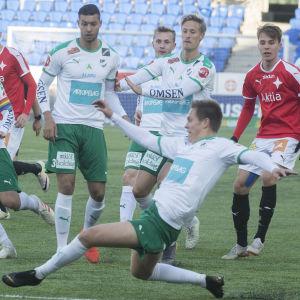 HIFK mot IFK Mariehamn.
