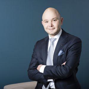 Jyväskyläläinen Petri Salminen on ehdolla Suomen Yrittäjien puheenjohtajaksi.