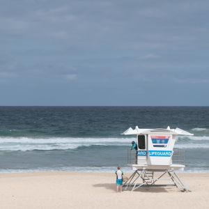 Bondi Beach i Australien.