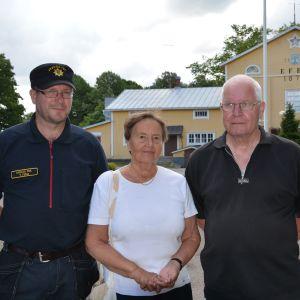 Tom Ferm, Britt-Marie Malmlund och Björn Öhberg