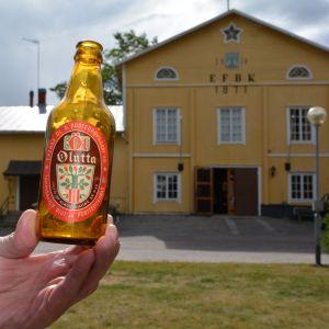 Ölflaska från Ekenäs bryggeri
