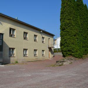 Kappsäcksfabriken i Karis