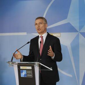Natos generalsekreterare Jens Stoltenberg