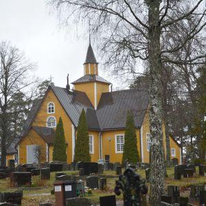 Dragsfjärds kyrka.