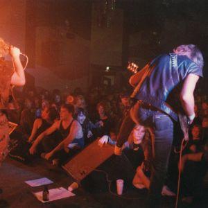 Darkland på scen i Berlin sommaren 1989