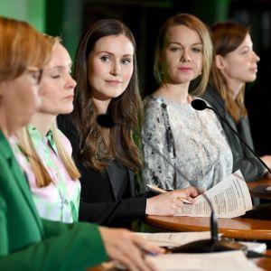 Regeringen Marin, företagarna, Finlands företagare