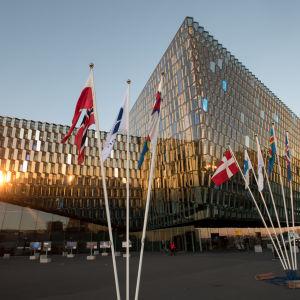 Harpa i Reykjavik, Nordiska rådets session 2015