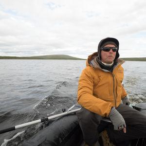 Aki Huhtanen on löytänyt paikkansa Kilpisjärveltä luonnonrauhasta