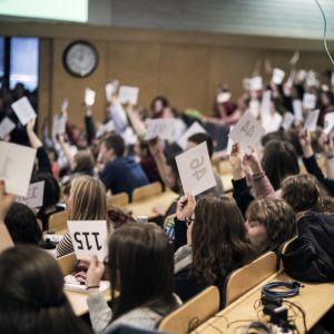 Plenum, Ungdomens kyrkodagar på Lärkkulla i Karis
