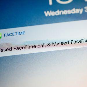 Missat Facetime-samtal.