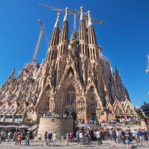Sagrada Familia i Barcelona